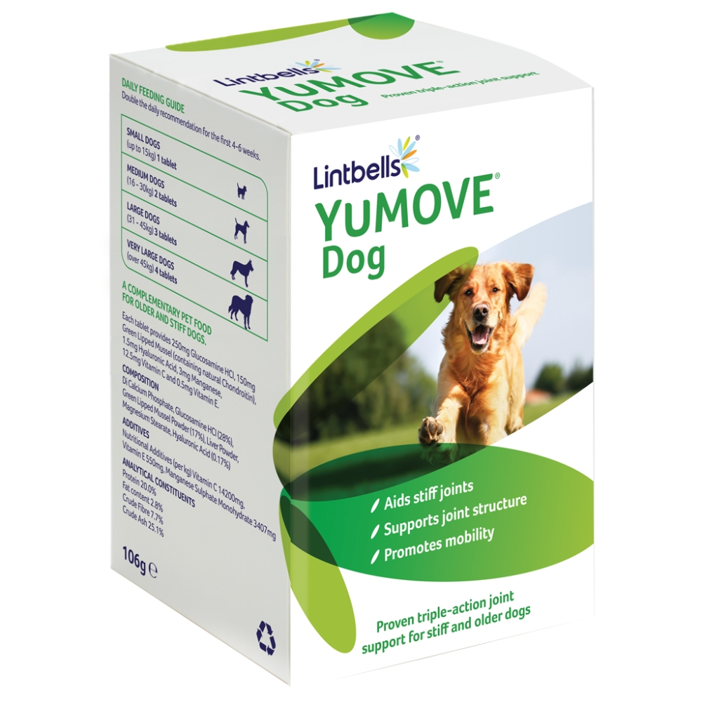 YuMOVE Dog joint supplement by Lintbells
