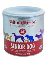 HILTON HERBS Canine Veteran Senior Dog Tub 125g