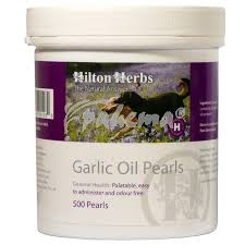 HILTON HERBS Garlic Oil Pearls 500s Tub