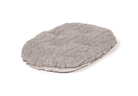 Bobble snuggle dog beds - Pewter - Mattress