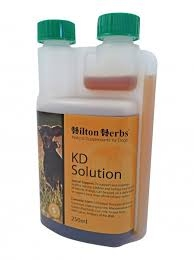 HILTON HERBS Canine KD Solution 250ml Bottle