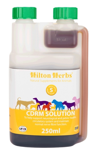 HILTON HERBS Canine CDRM Solution 250ml Bottle