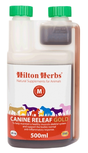HILTON HERBS - Canine Releaf Gold 500ml bottle